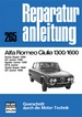 Alfa Romeo Giulia 1300/1600 - Giulia Super 1300/GT Junior 1300/Spider Junior 1300/GTA Junior/Giulia Super 1600/GT Junior 1600