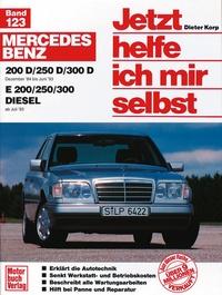 Mercedes 200-300 D,  Dez.84-Jun.93 E 200-300 Diesel ab Juli '93