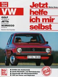 VW Golf (bis Okt. 83), Jetta (bis Jan. 84), Scirocco (bis Apr. 81) - Benziner ohne Einspritzer