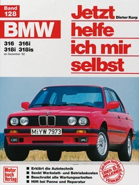 BMW 316, 316i, 318i, 318is (ab Dez. 82-90)
