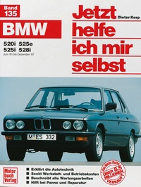 BMW 520, 525e, 525i,-528i (Juni 81 - Dezember 87)