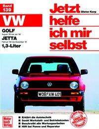 VW Golf II (ab 83), VW Jetta II (ab 83), 1.3 Liter
