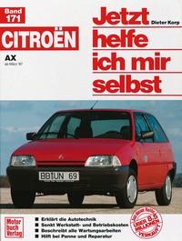 Citroën AX   ab März '87 - Reprint der 1. Auflage 1994