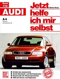 Audi A 4 - Benziner ab November '94 // Reprint der 1. Auflage 1995