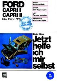 Ford Capri alle Modelle