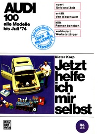 Audi 100 LS / GL / Coupé bis 7/1974