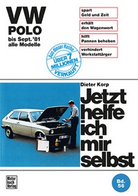 VW Polo  - bis September '81 alle Modelle // Reprint der 9. Auflage 1988