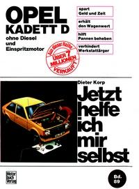 Opel Kadett D (8/79-9/84) - ohne Diesel und Einspritzmotor