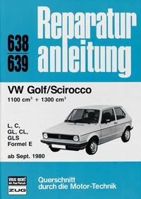 VW Golf / Scirocco LL / S / GL / GLS / Formel E