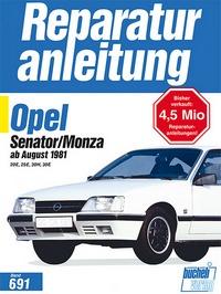 Opel Senator/Monza ab August 1981 - 20 E, 25 E, 30 H, 30 E