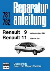 Renault R9 / R11    (ab Sept.1981 / ab März 1983)  - Reprint der 12, Auflage 1989