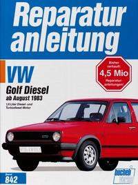 VW Golf II Diesel / Turbodiesel, GTD / Carat TD - Dieselmotor und Turbodieselmotor