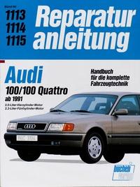 Audi 100 / 100 Quattro (ab 1991) - 2.0-Liter Vierzylinder-Motor, 2.3-LiterFünfzylinder-Motor
