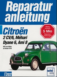 Citroen 2CV/6,Dyane6,Mehari,Ami 8,602ccm alle Modelle,alle Baujahre