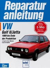VW Golf II / Jetta (1989 bis Ende der Produktion) - 1,6 und 1,8 Liter Motoren, 8 unjd 16 Ventile