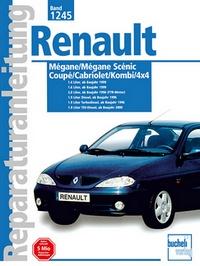 Renault Mégane / Mégane Scénic  - Coupe/Cabriolet/Komb/4x4   // Reprint der 2. Auflage 2001