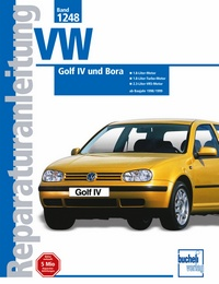 VW Golf IV / Bora   1998-1999 - 1,8-Liter-Motor, 1,8-Liter- Turbo-Motor, 2,3 Liter VR5-Motor