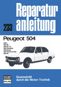 Peugeot 504, 504 L, 504 GL, 504 GL-TL, 504 F