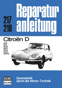 Citroen D - D / ID 20/ ID 21 / DS 20/ DS 21/ DS 23 Super, Special
