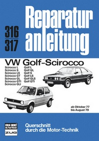 VW Golf/Scirocco  10/77 bis  8/79