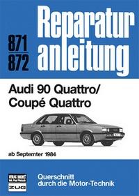 Audi 90 Quattro / Coupe Quattro ab September 1984
