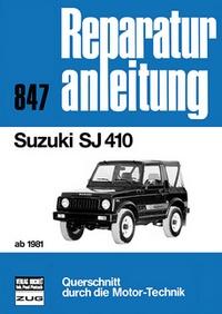 Suzuki SJ 410   ab 1981 - Reprint der 2. Auflage 1991