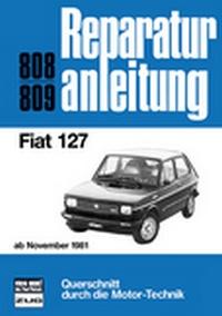 Fiat 127    ab November 1981 - Reprint der 6. Auflage 1986