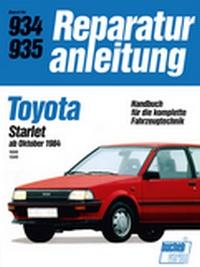 Toyota Starlet    ab Oktober 1984 - 1000/1300   //  Reprint der 10. Auflage 1988