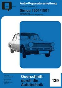 Simca 1301 / 1501 - Standardgetriebe / Automatisches Getriebe (Borg Warner)