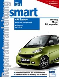 smart 451 fortwo - Benzin- und Dieselmotoren / Modelljahre 2007-2014