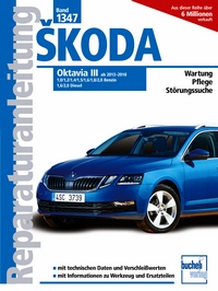 Skoda Oktavia III ab 2013-2018 - 1,0/1,2/1,4/1,5/1,6/1,8/2,0 Benzin 1,6/2,0 Diesel