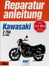 Kawasaki Z 750 ab (1980) - E1, H1, E2, L1, R1, GPZ