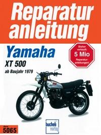 Yamaha XT 500   ab 1979 - Luftgekühlter Einzylinder Viertaktmotor
