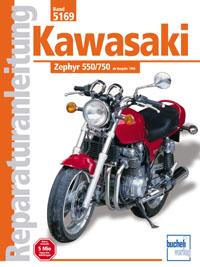 Kawasaki Zephyr 550 / 750 - ab Baujahr 1990