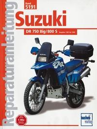 Suzuki DR 750/800 Big, 800S (ab Herbst 1987)