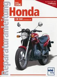 Honda CB 500    Bj. 1994 - 2Zyl.Viert.Reihenm.DOHC, VierVentile, Tassenstößl,2 obenl.kettengetr.Nockenwellen
