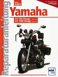 Yamaha XV 750 Virago 92-97 / XV 1100 Virago 89-99 - Luftgek,Viertaktm.obenl.Nockenwell  748 / 1063 cm3, V-Zweizyl. Winkel 75 Grad