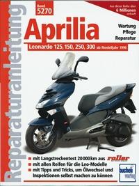Aprilia Leonardo 125, 150, 250, 300 - Ab Modelljahr 1996