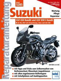 Suzuki GSF 650 Bandit ab Modelljahr 2007 - Einspritzer, wassergekühlt
