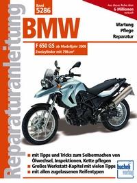 BMW F 650 GS ab Modelljahr 2008 - Zweizylinder mit 798cm³