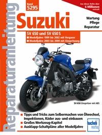 Suzuki SV 650/SV 650 S /Vergaser u. Einspritzung/ Modelljahr 1999-2008