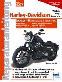 Harley Davidson 883 - Einspritzer und Zahnriemen ab Modelljahr 2007