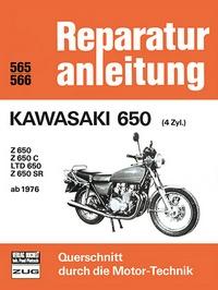 Kawasaki 650  (4 Zyl.)  ab 1976 - Z 650 / Z 650 C / LTD 650 / Z 650 SR