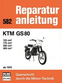 KTM  GS 80 - 125 / 175 / 250 / 400 cm³   ab  1979