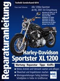 Harley-Davidson Sportster XL 1200 - Modelle mit Einspritzung ab Modelljahr 2007